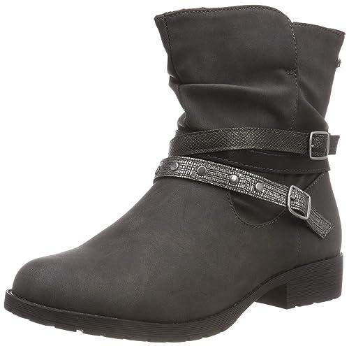 bef91fa7b7 Clarks Girls' 454 035 Biker Boots: Amazon.co.uk: Shoes & Bags