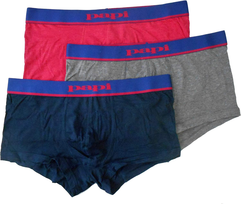 papi 3-Pack Underwear Brazilian Trunk Mens