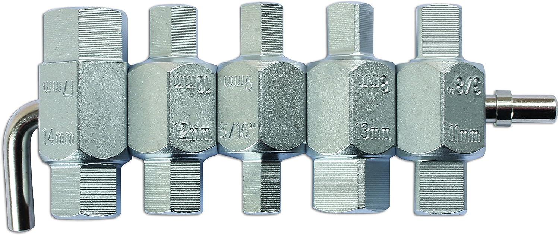 Laser 1580 1580 Ablassschraubenschlüsselsatz 5 Teilig Auto