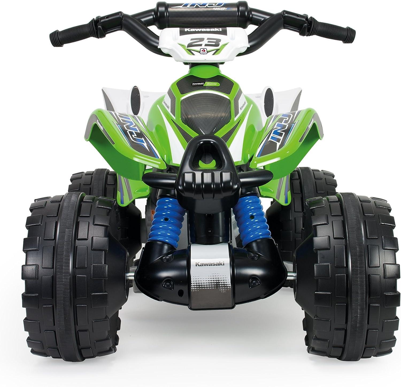INJUSA – Quad Kawasaki ATV de 12V Licenciado con Marcha Atrás ...