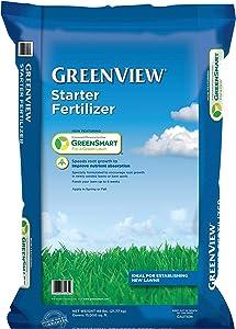 GreenView 2129800 Starter Fertilizer 48 lb, Covers 15,000 sq. ft.