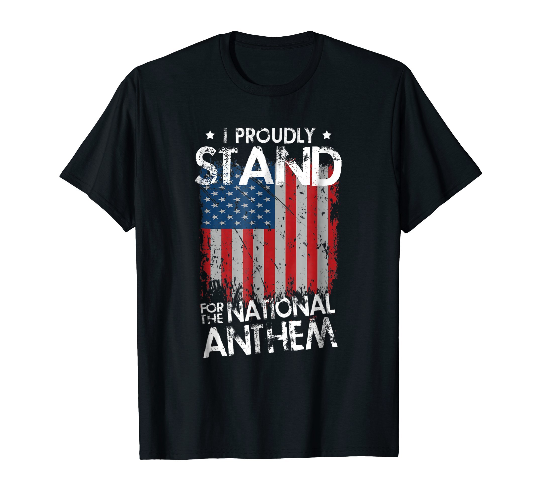 I Proudly Stand With The National Anthem T-Shirt