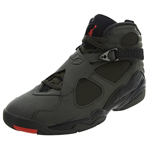 c19fc038367f86 Nike Air Jordan 8 Retro Take Flight Olive Green - Sequoia Max Orange-Black