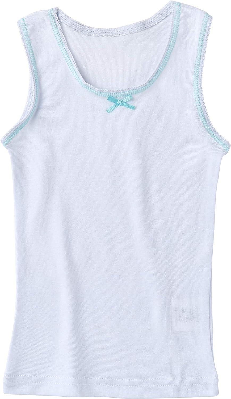 Sportoli Girls Ultra Soft 100/% Cotton White and Assorted Tagless Tank Top Undershirts