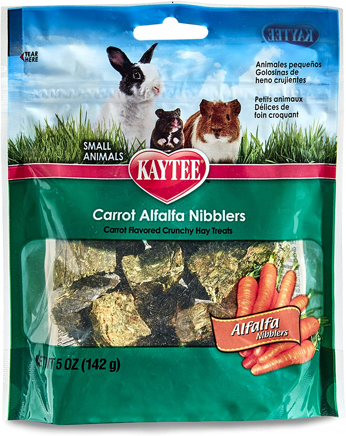 NIBBLER CARROT 5 OZ.