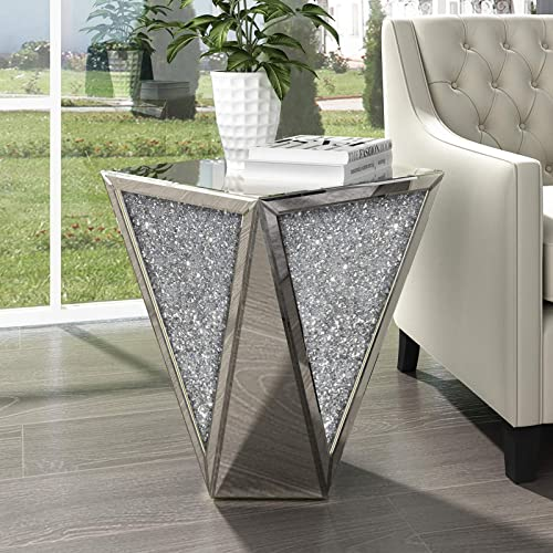 Editors' Choice: Mirrored End Table Living Room
