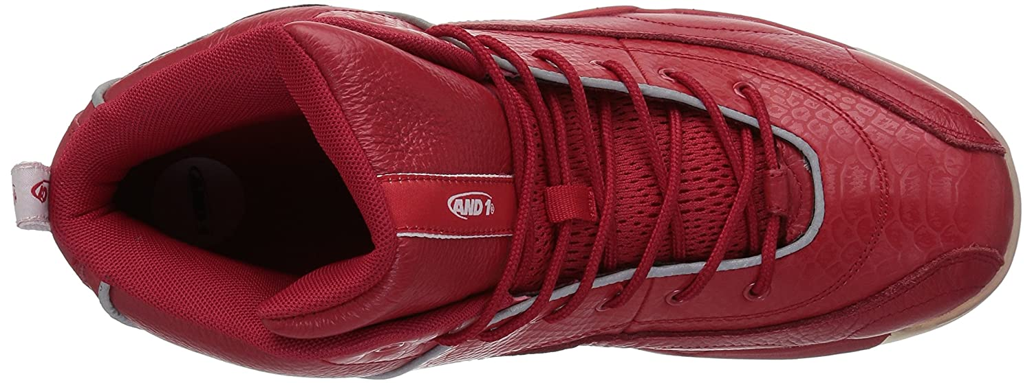 AND1 Men's Coney Island Classic Basketball Shoe AND 1 (ES Originals) Coney Island Classic-M