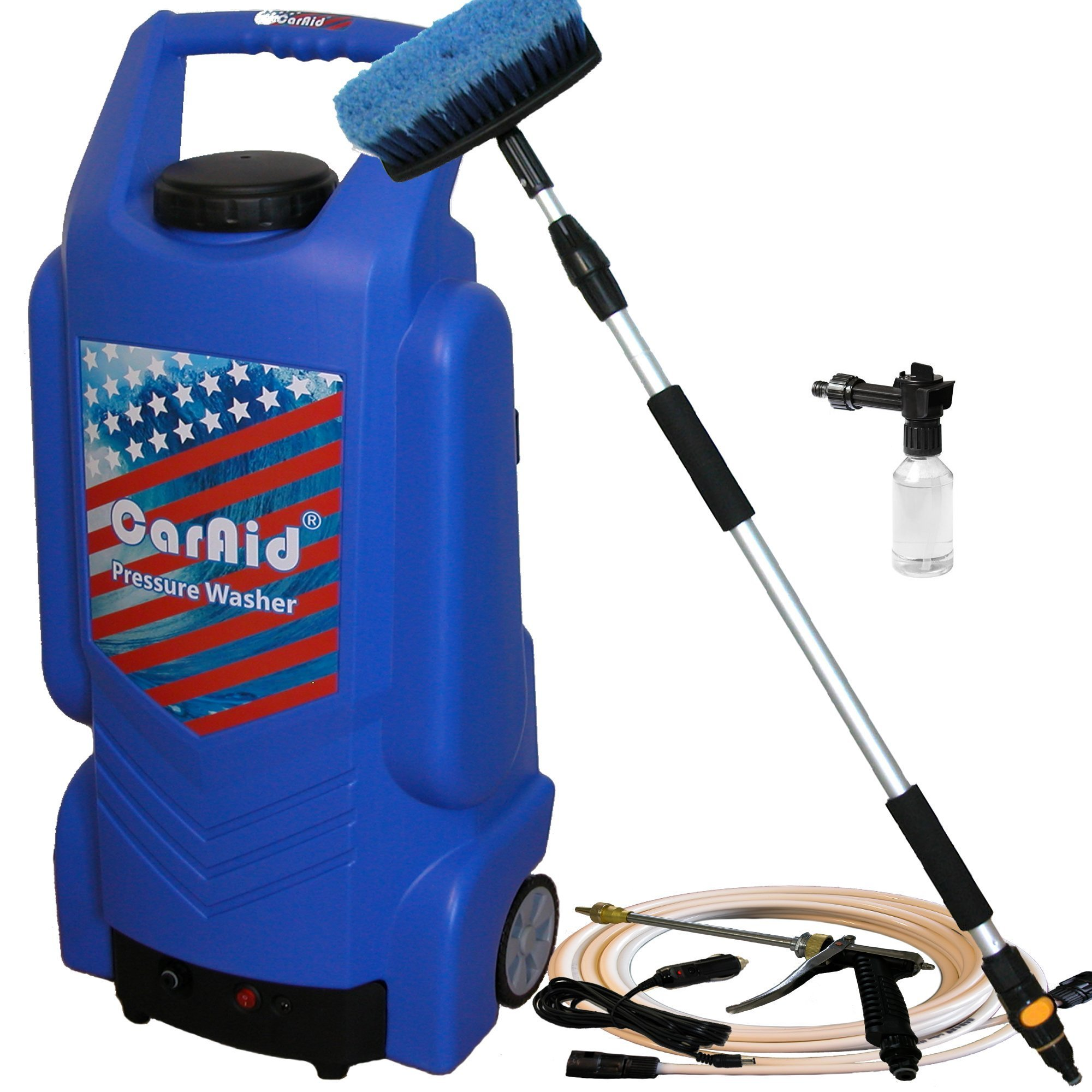 Caraid 9906 Portable Pressure Washer with Water Tank, Large