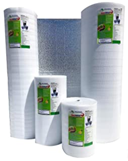 """US Energy Products 48/"""" x 150/' Double Bubble White Reflective Foil Insulation R8"""
