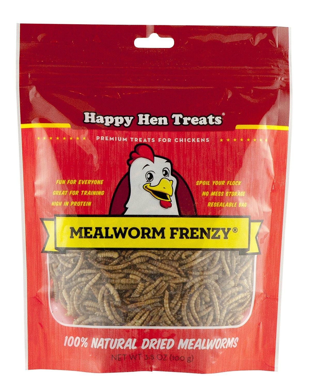 3.5Ounce Happy Hen Treats Mealworm Frenzy, 30Ounce