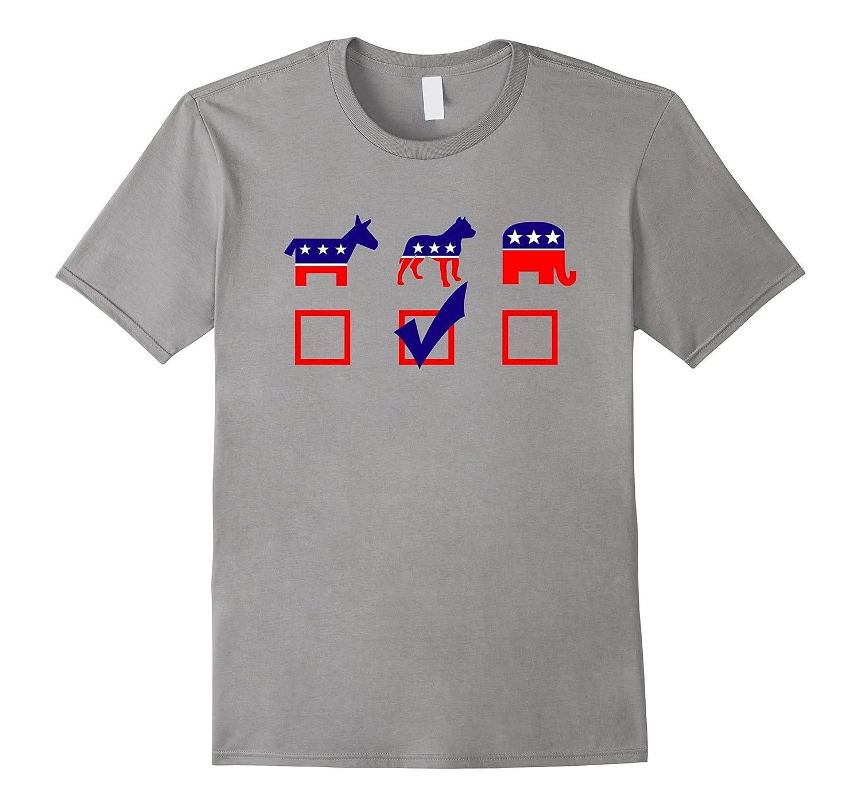 Vote Pit Bull For President T-shirt Cool Dog Lover Shirt-azvn