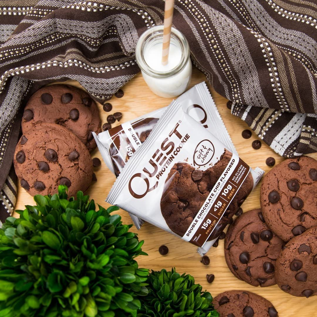 Quest Nutrition Quest Protein Cookie - 12 unid. Chocolate Chip