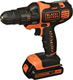 BLACK+DECKER 20V MAX Matrix Cordless Drill Combo Kit, 2-Tool (BDCDMT120IA)