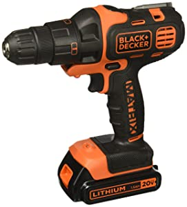 BLACK+DECKER BDCDMT120IA 20-volt Matrix Drill and Impact Combo Kit
