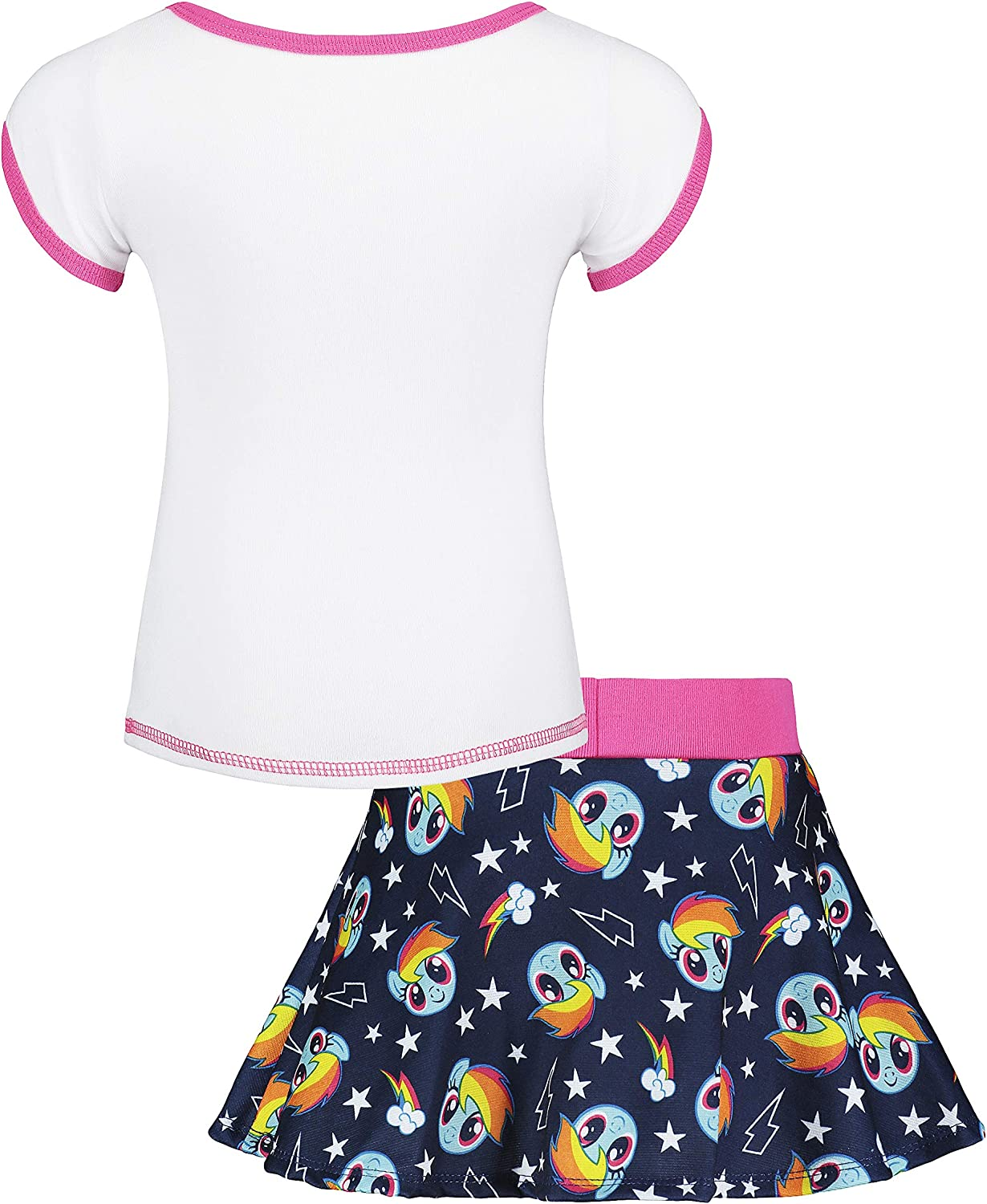 Amazon.com: my little pony Rainbow Dash bebé niña playera y ...