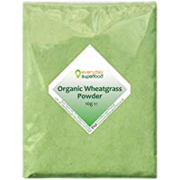 Organic Wheatgrass Powder 10g Premium Organic Wheat Grass by Everyday Superfood UK