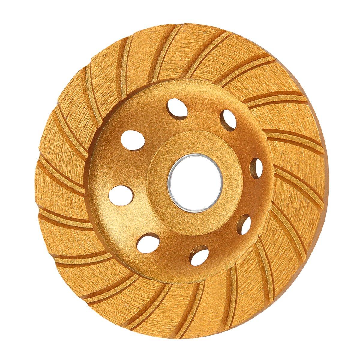 KSEIBI 644052 Super Turbo Diamond Cup wheel 4-1/2 Inch (115 mm) by KSEIBI
