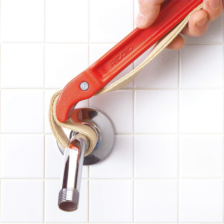 Strap Pipe Wrench 5 1//2 in OD 30 in Strap