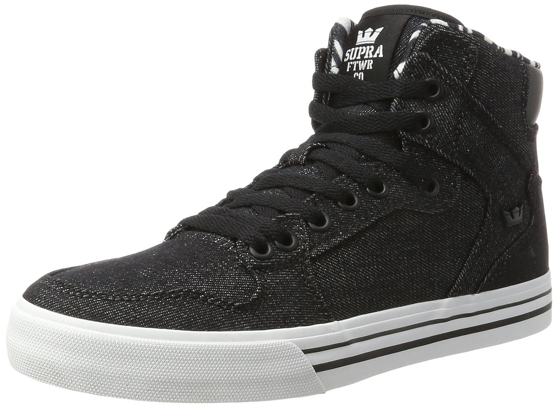 Supra Vaider Skate Shoe B01MF5KMIM 11.5 M US|Black/White 023