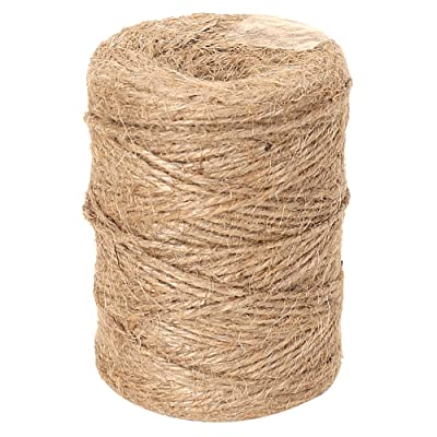 RAJRANG BRINGING RAJASTHAN TO YOU 328 Feet Natural Twine Strings - Handmade Suitable for Crafts Gift Christmas Durable Packing Cord for Gardening Application - 2 mm Diameter: Garden & Outdoor