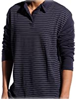 Godsen Men's Long Sleeve T Shirts Henly Shirts with Buttons Placket
