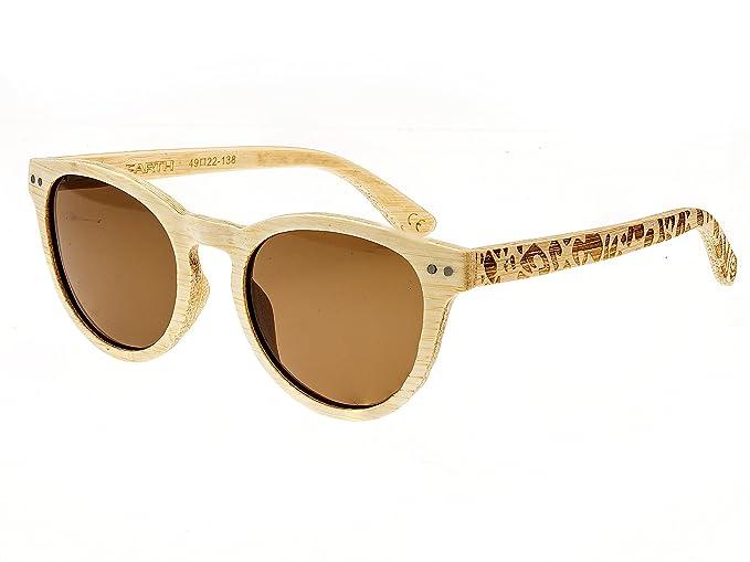 bc0ad9fdbb Amazon.com  Earth Wood Copacabana Wood Sunglasses Polarized Cateye ...