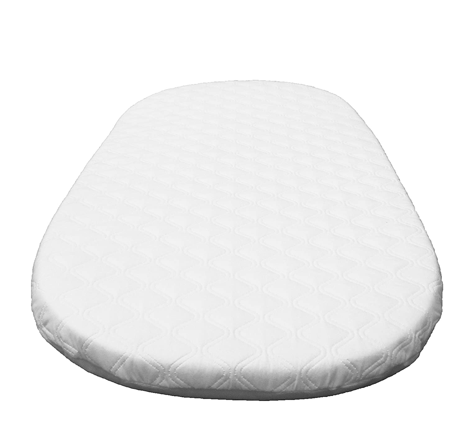 SUZY® Microfibre Hypoallergenic Crib Mattress: To Fit ALL MJ Mark Wicker Cribs (Except Miranda) British Made SUZY-mc-8045