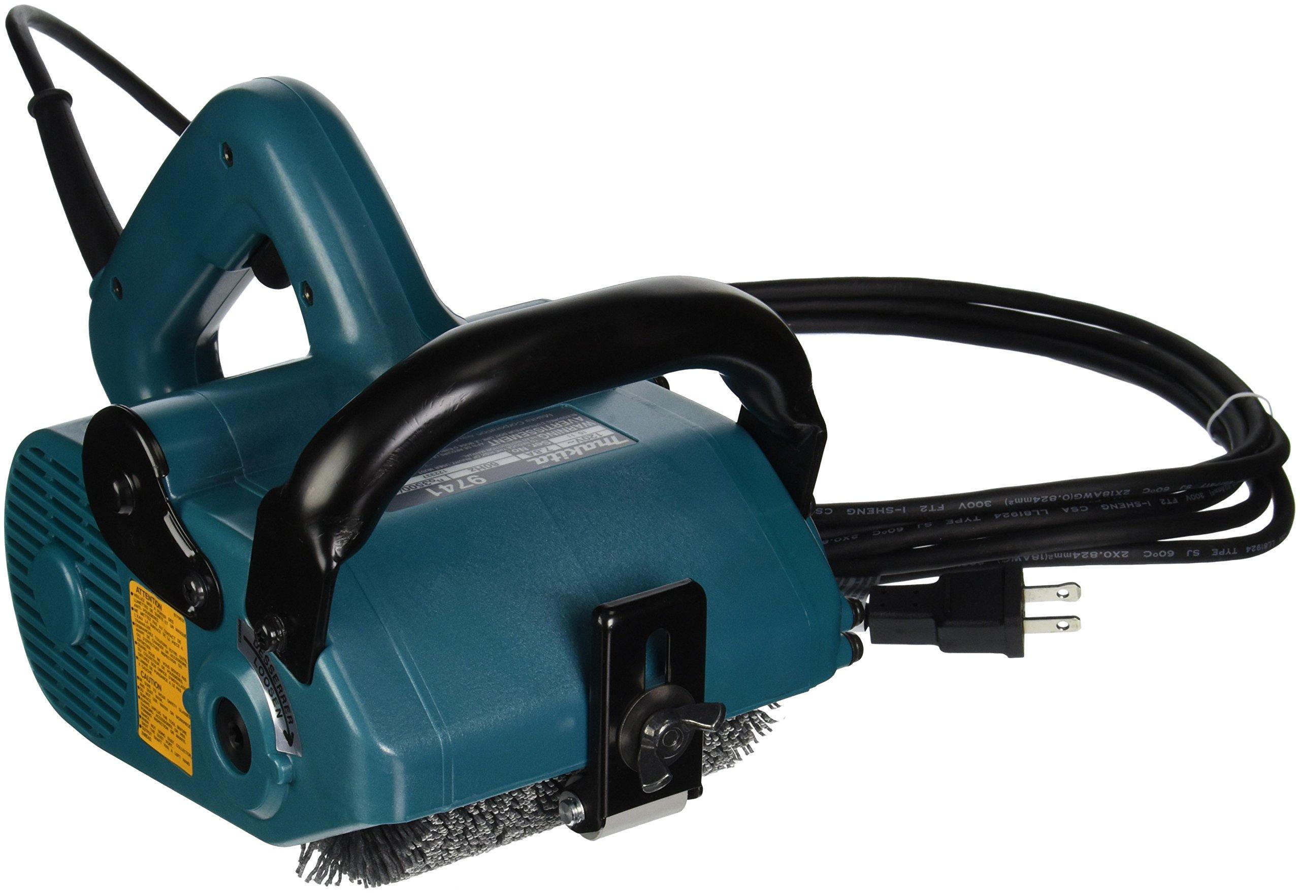 Makita 9741 Wheel Sander - 7.8 Amp 3500 Rpm 4 3/4In. X 4In. Wheel Size 2