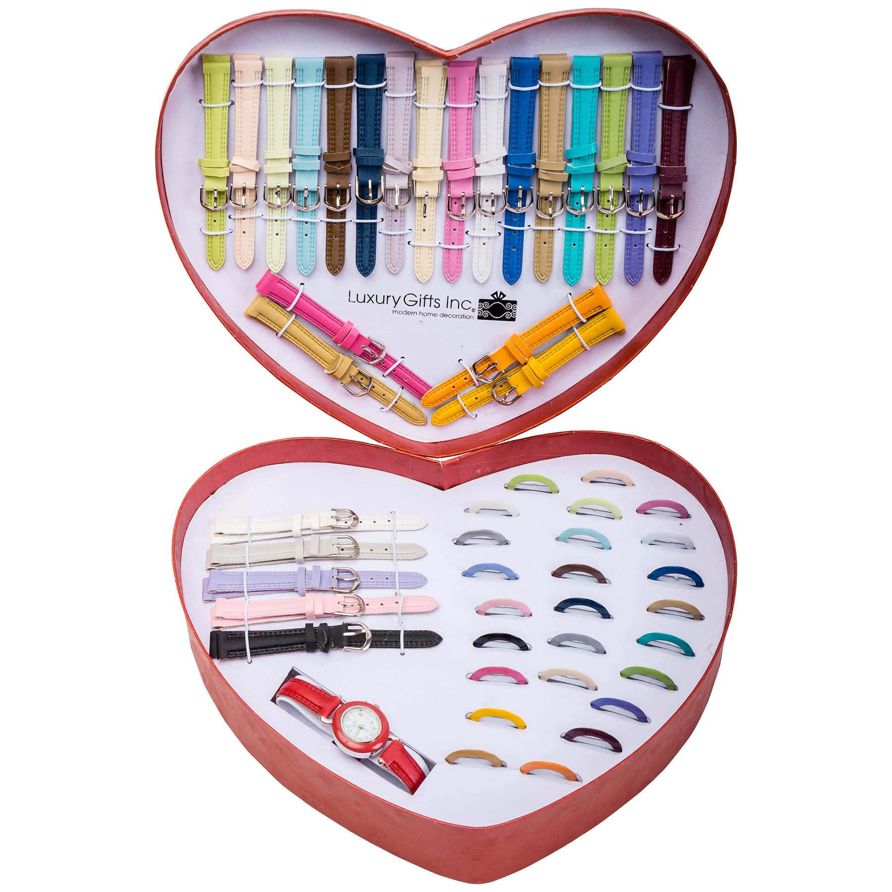 LOVE by LGI , XXL 50pcs Interchangeable Ladies Watch Set - Holiday Gift Set