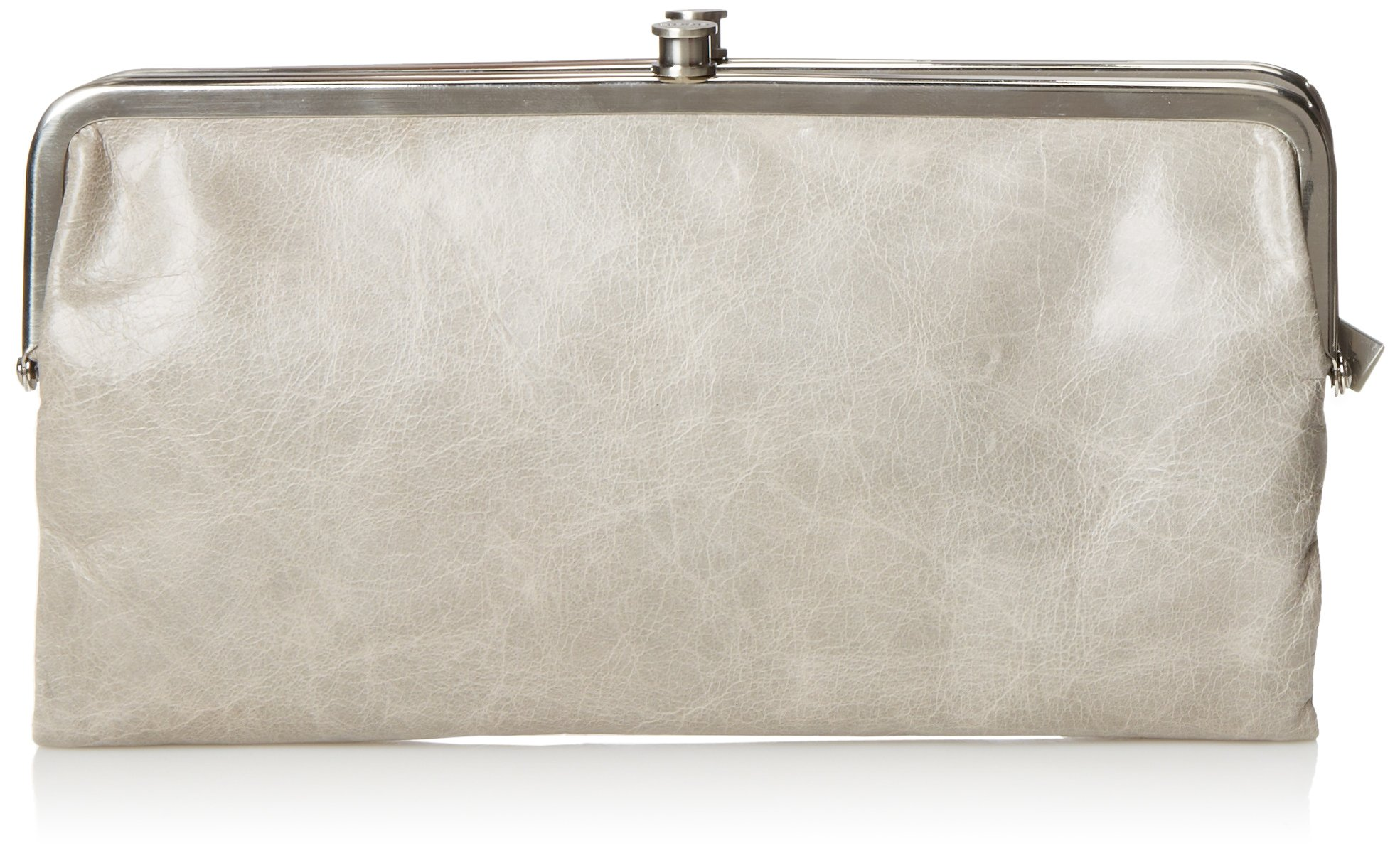 HOBO Vintage Lauren Leather Wallet, Cloud, One Size