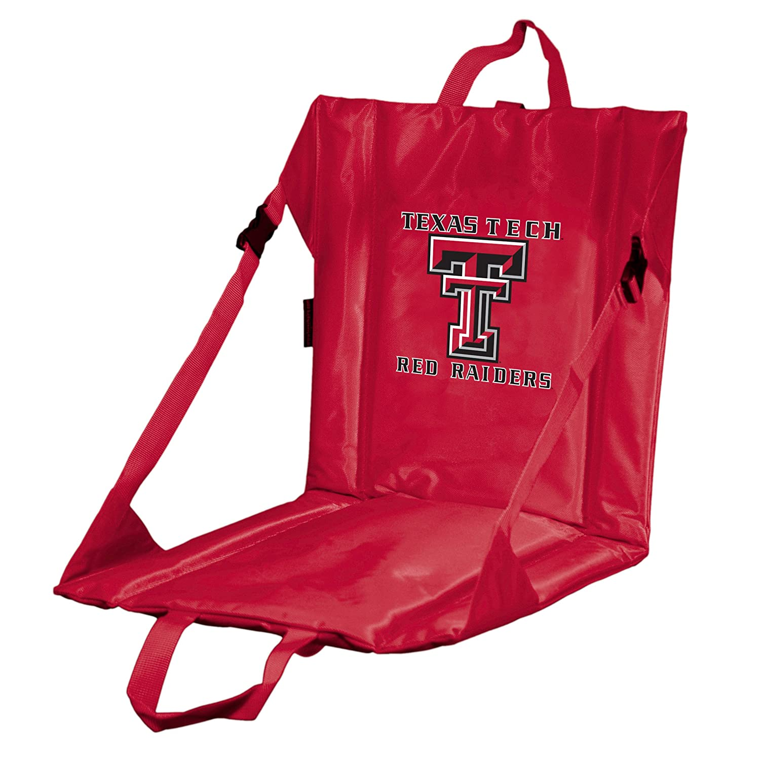 Collegiate Collapsible Foam Padded Stadium Seat with Velcro Bleacher Attachment