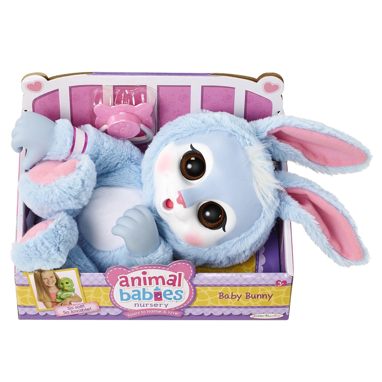Amazon.com: Animal Babies Bunny Plush: Toys & Games
