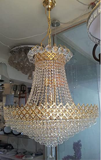 Grand Golden Crystal Designer Chandeliers fancy and attractive