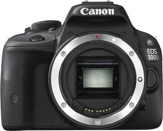 Canon EOS100D - Cámara réflex Digital de 18 MP (Pantalla de 3 ...