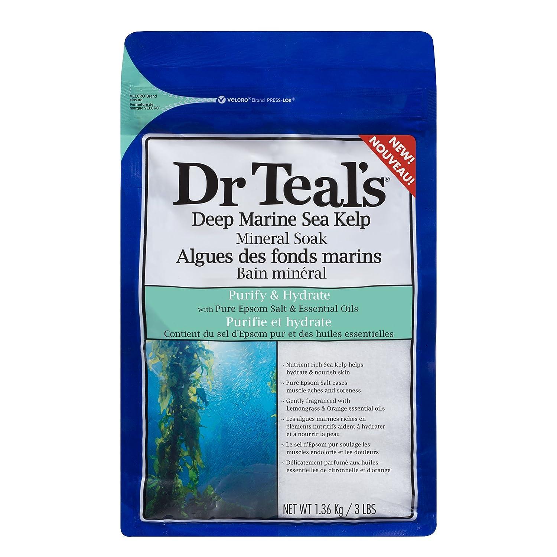 Dr Teal's Deep marine sea kelp mineral soak, 1.36 kg Dr Teal' s