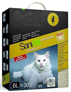 TOLSA D-10120 Sanicat Clumping Ultra Gold - 6 L: Amazon.es: Productos para mascotas