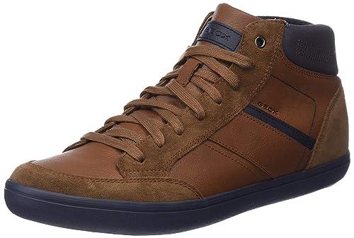 059320ec90 Geox U Box E, Sneaker a Collo Alto Uomo: Amazon.it: Scarpe e borse