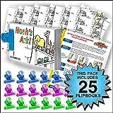 Fliptomania Noah's Ark Flipbook Activity Pack - 25 Sets DIY Flip Books