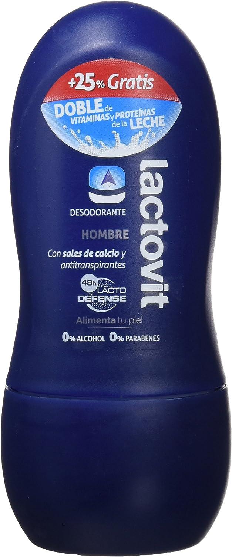 Lactovit Hombre, Desodorante roll-on, 3 Pack (3 x 50 ml): Amazon.es: Belleza