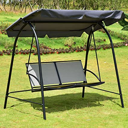 & Amazon.com : choice Patio Swing Chair Canopy Products : Garden u0026 Outdoor