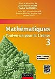 Mathématiques Tout-en-un pour la Licence 3 : Cours complet avec applications et 300 exercices corrigés