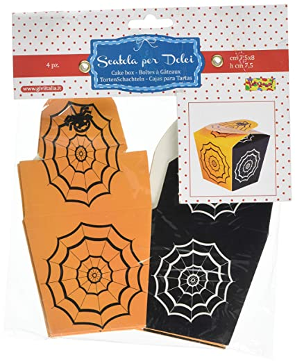 Givi Italia 52982 4 Boxes Spider Web, Multi-Colour, 7.5 x 8 x