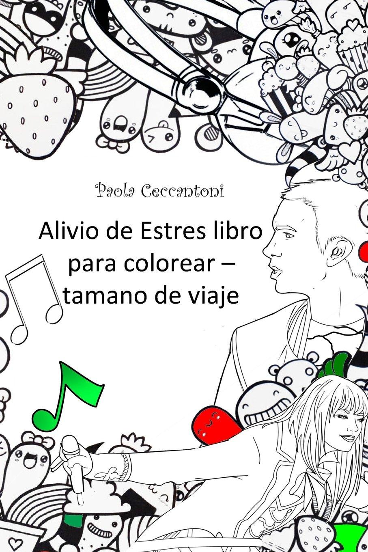 Alivio de Estres libro para colorear - tamano de via: Shakira ...