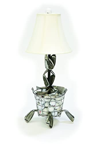 Amazon range ball basket golf table lamp handmade range ball basket golf table lamp aloadofball Choice Image