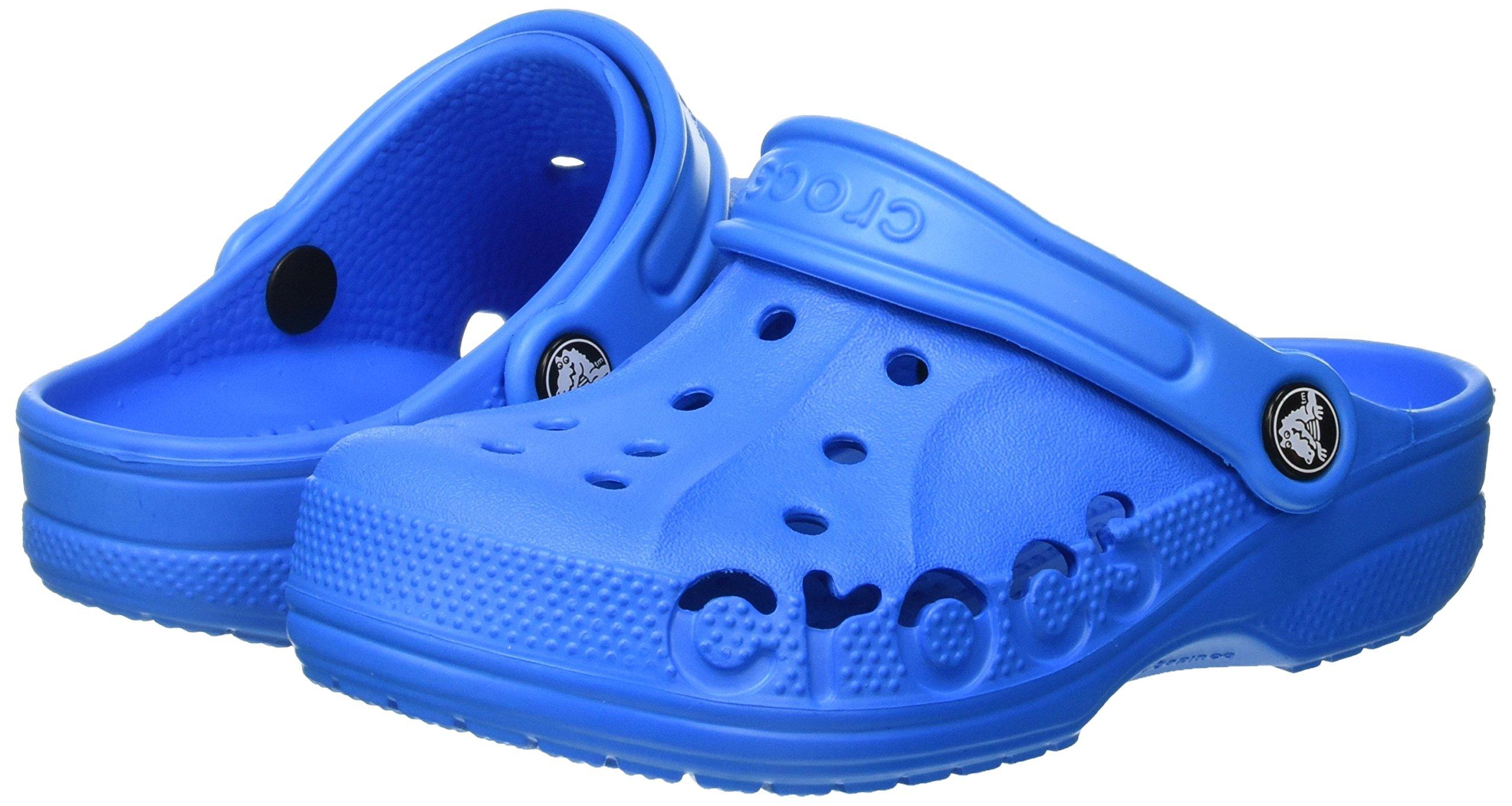 Crocs Kids' Baya 10190 Clog, Ocean, 8-9 M US Toddler by Crocs (Image #5)