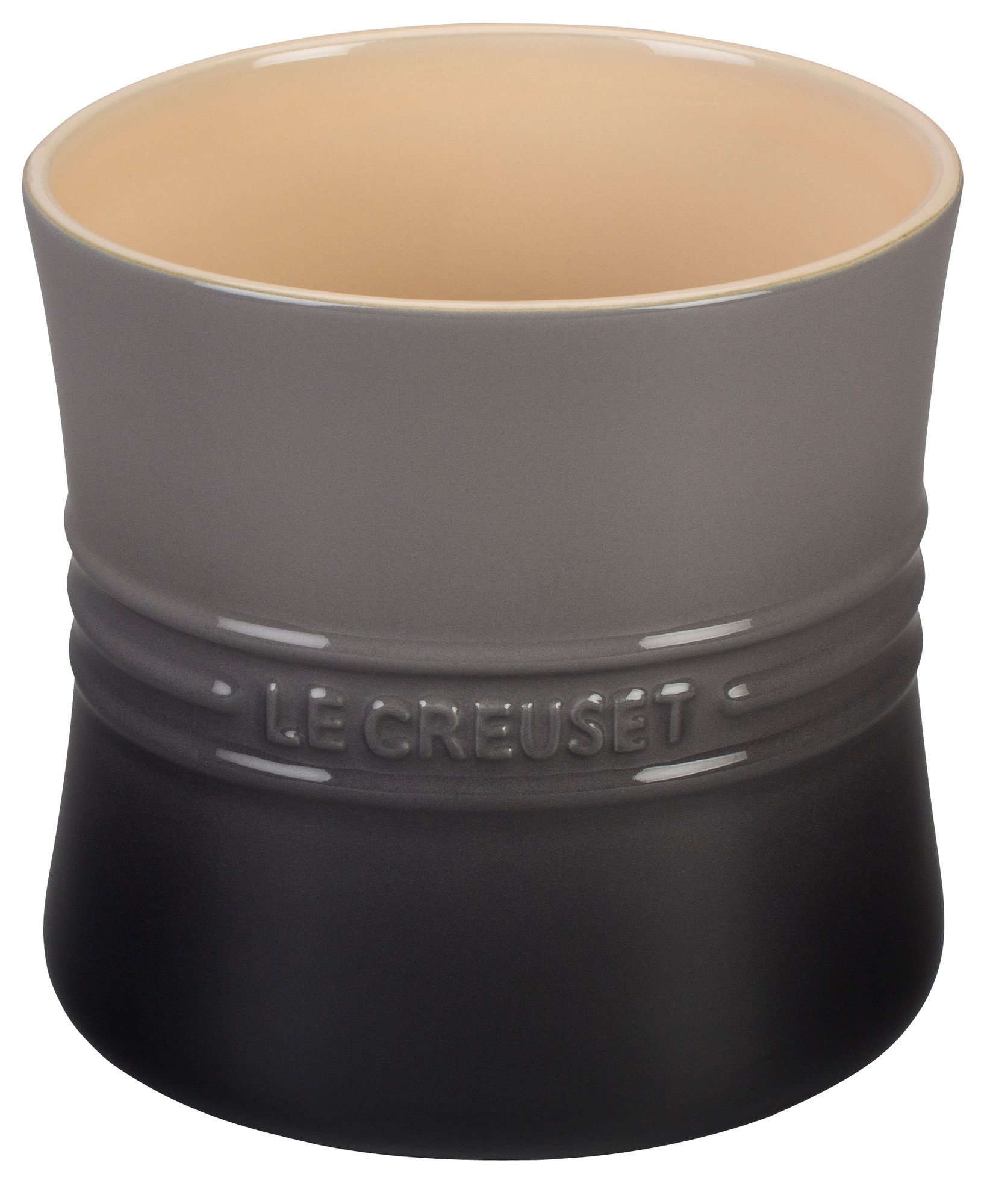 Le Creuset Stoneware 2 3/4-Quart Utensil Crock, Oyster