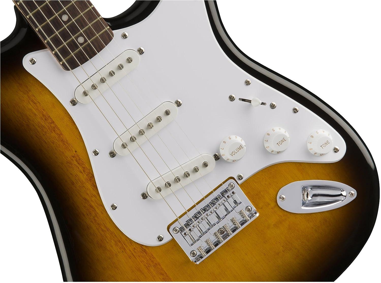 SQUIER GUITARRA ELÉCTRICA BULLET STRAT HT BSB: Amazon.es: Instrumentos musicales