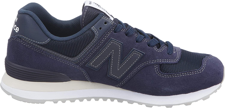 New Balance Herren 574v2 Sneaker, blau, Einheitsgröße Blau (Dunkelblau Dunkelblau)