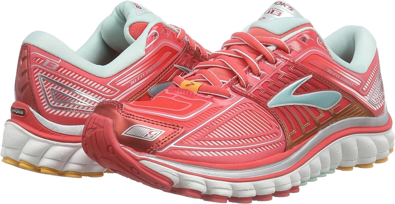 Brooks Zapatillas Deportivas Glycerin 13 Coral/Azul Celeste EU 36 (US 5.5): Amazon.es: Zapatos y complementos