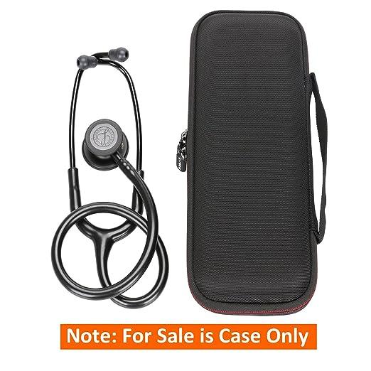 Amazon.com: Stethoscope Case - LTGEM Case for 3M Littmann Classic III Stethoscope 5803-Black: Health & Personal Care